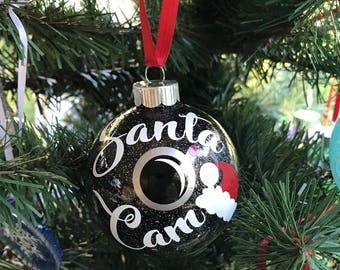 Santa Cam ornament, Christmas Ornament, Santa's Watching You Ornament, Kids Ornament, Traditions, Elf Camera, Santa Camera, Elf Accessory