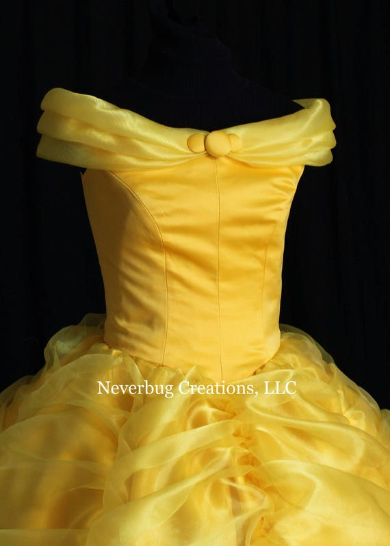 Beauty and the Beast Belle Classic Yellow Gown