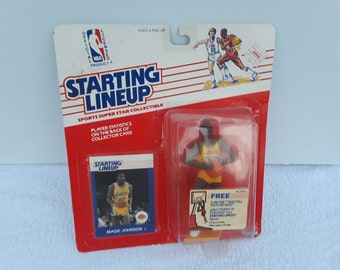 Starting  Lineup  NBA  Magic  Johnson Figure Lineup  /  New