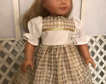 American Girl Doll or 18 In Doll Dress