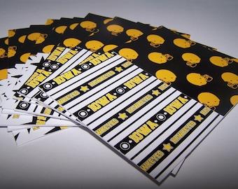Iowa Hawkeyes. Hawkeye gift. Letter writing set. Iowa football. Note cards boxed set. Iowa wedding gift. University gift. College graduate.