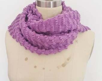 Womens or Kids Knitted Scarf,texture bobble scarf, knitted, Baby knit scarf,Personalized,long scarf,gifts for her,christmas
