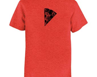 Pizza Slice Kids TShirt - Foodie Kids Pizza Shirt - Boy or Girl - Tee Shirt Top - Kids Tshirt 2T, 4T, 6, 8, 10, 12 - Pizza Tee Shirt