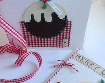 Christmas Cards, Handmade Card, Christmas Pudding, Figgy Pudding