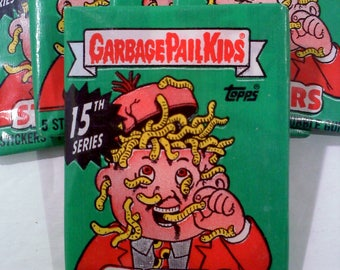 Garbage Pail Kids Series 15 Trading Cards