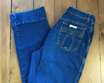 Vintage 70's Tommy's Super High Waisted Jeans