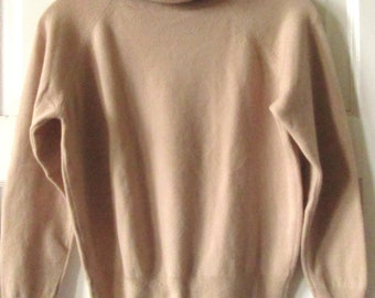 Dalton Cashmere Turtleneck Sweater, M