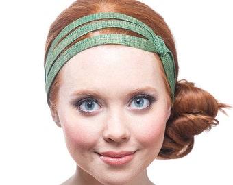 St Patricks Day, Fabric Headband For Women, St Patricks Day Hair Accessories, Gift For Women, Green And Gold Headband, Gift For Nurse