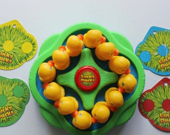 Vintage Milton Bradley Lucky Ducks Kids Game 1994