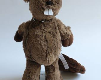 """Beaver Stuffed Animal - """"George"""""""