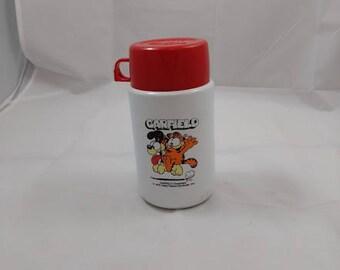 Vintage Garfield Thermos, Kids Thermos 1978