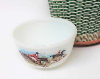 Pyrex Huntsman 'Tally Ho' Small Mixing Bowl