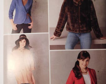 Simplicity Sewing Pattern 2150 Misses Stylish Jacket in Four different styles, Size 6, 8, 10, 12 and 14 Women's Fashion