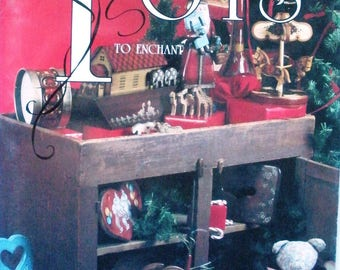 Toys To Enchant Various Artists NSTDP Patterns Tole and Decorative Painting Book Hard To Find