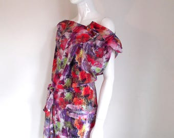 BURBO ART 'Sy-Anne' Summer dress