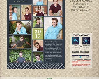 senior yearbook ad templates free - senior yearbook ad etsy