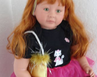"Reborn 22"" Toddler Girl Doll ""Vivian"""
