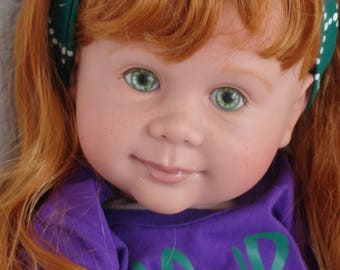 "Reborn 22"" Toddler Girl Doll ""Marina""- ""Maybe I'm A Mermaid"""