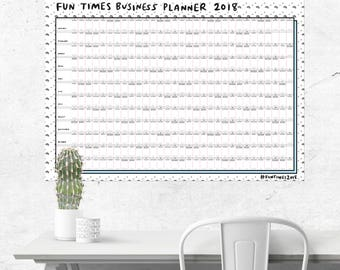 Fun Times Business Planner 2018 - NOW HALF PRICE