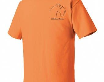 Lakeland Terrier Garment Dyed Cotton T-shirt