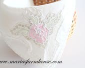 NAPKIN, Vintage, Embroidered Heirloom, Cutwork Luncheon Napkin, Wedding Table Decor, High Tea Party