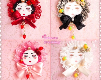 Pick One - Fruit Princess Brooches