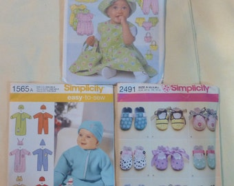 baby patterns new shoes dresses prams and more you choose Simplicity and Butterick
