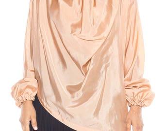 Early Issey Miyake Silk Blouse Size: 12