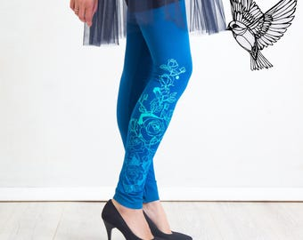 Water Lily - leggings