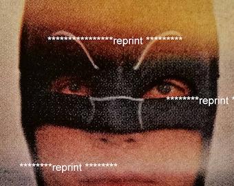 Batman.  From 1960 Magazine article - Adam West.  Great little portrait.  5x7 on FujiFilm