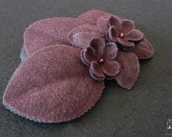 "fascinator hair clip ""winter garden"" wine-"