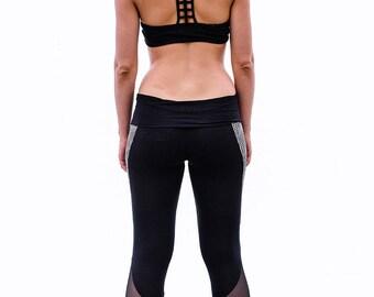 Women Yoga Leggings, Yoga Woman Pants, Yoga Legging, Cut Out Leggings, Festival Leggings, Black Leggings, Tights, Workout Leggings, Boho