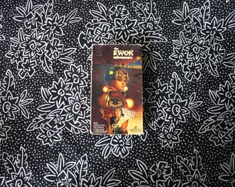 The Ewok Adventure VHS Tape. Cult Classic 80s Star Wars Ewok Spin Off Fantasy Movie. Cult Classic Star Wars Magical 80s Kid Movie.