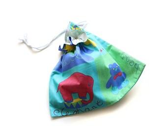 SALE || Drawstring Bag || Cute Animals || 28cm x 33cm