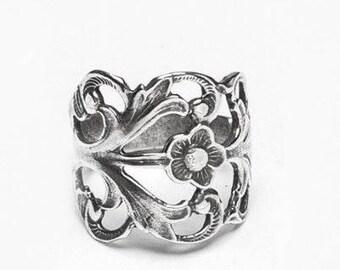 """Spoon Ring: """"Hazel"""" by Silver Spoon Jewelry"""
