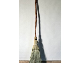 Diamond Willow Kitchen Broom   Functional Art Broom   One Only   Free  Shipping