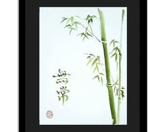Organic painting original - Impermenence