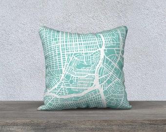 San Francisco SE Map Pillow Cover