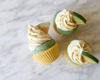 Pineapple Soap Cupcake for Hand & Body, Cold Process, Teacher's Gift