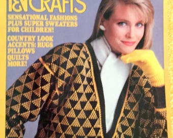 McCall's Needlework and Crafts 1986
