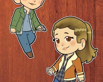 Wayward Sisters Stickers!