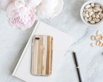Agata Venata and Rose Gold Case Otterbox Symmetry iPhone 6 / iPhone 7 / iPhone 8 / iPhone X - Platinum Edition - Precious Stones Collection