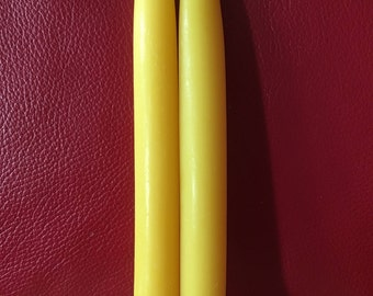 "One pair, 8"" taper candle"