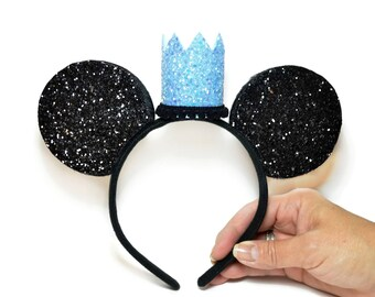 Mickey Headband || Minnie Ears || First Birthday Outfit || Mouse Ears || Disney Any Age Birthday Outfit || Add Any Number