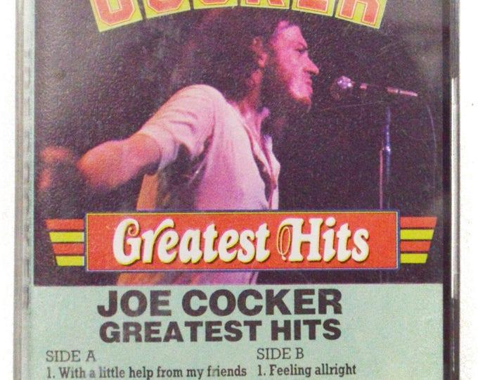 Vintage 80s Joe Cocker Greatest Hits Holland Import Rock Album Cassette Tape