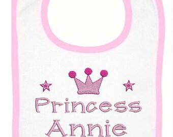 Little Princess Personalized Bib (2325)