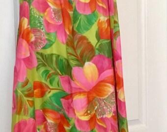 Vintage Malia Hawaiian Dress