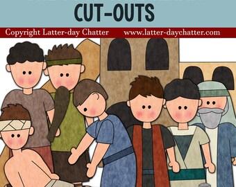 The Good Samaritan Jumbo Cut-outs