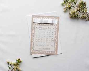 SARAH // Wedding Stationery // Save the Date