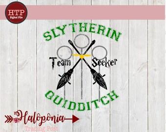 Slytherin Quidditch Seeker SVG File (Harry Potter)